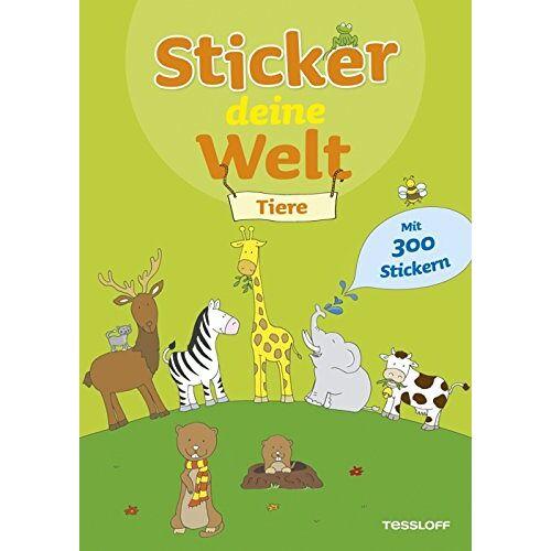 - Sticker deine Welt Tiere. Mit 300 Stickern! - Preis vom 20.10.2020 04:55:35 h