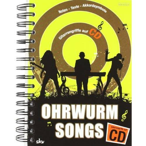 Sven Kessler - Ohrwurm-Songs Gitarrengriffe mit CD: Noten-Texte-Akkorde-Gitarrengriffe - Preis vom 15.01.2021 06:07:28 h