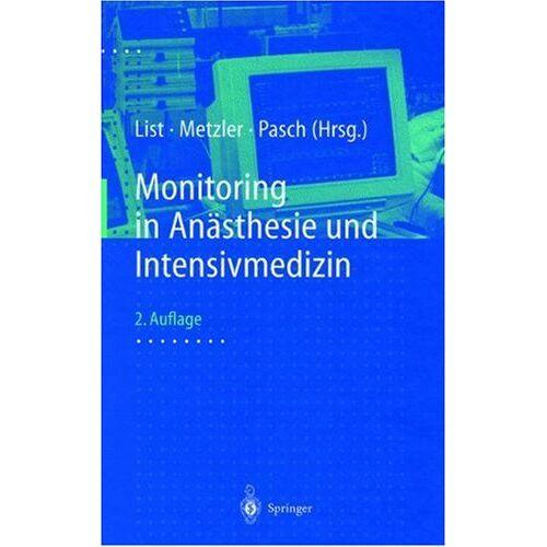 H. Metzler - Monitoring in Anästhesie und Intensivmedizin - Preis vom 10.05.2021 04:48:42 h
