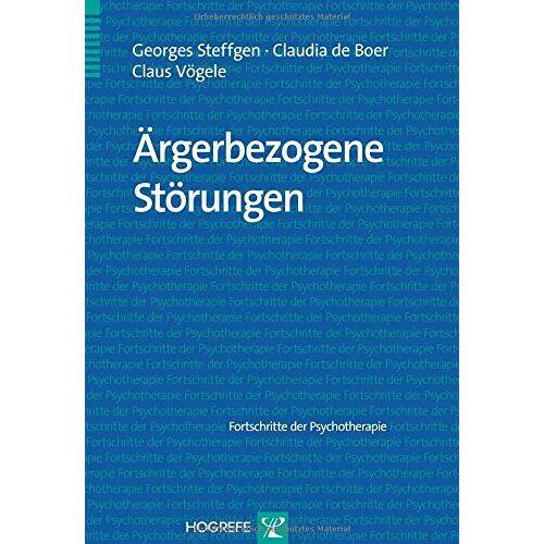 Georges Steffgen - Ärgerbezogene Störungen - Preis vom 07.03.2021 06:00:26 h