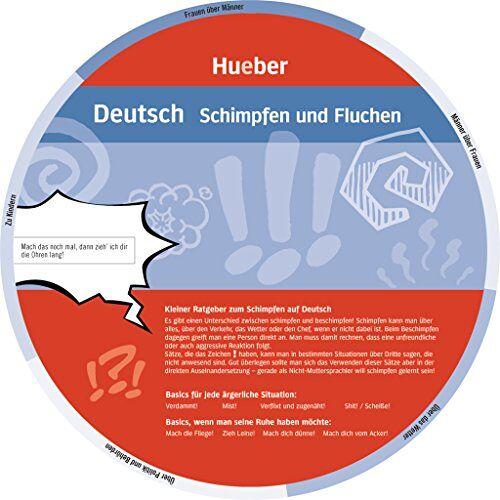 Hueber Verlag GmbH & Co. KG - Deutsch - Schimpfen und Fluchen: Wheel - Deutsch - Schimpfen und Fluchen - Preis vom 24.02.2021 06:00:20 h