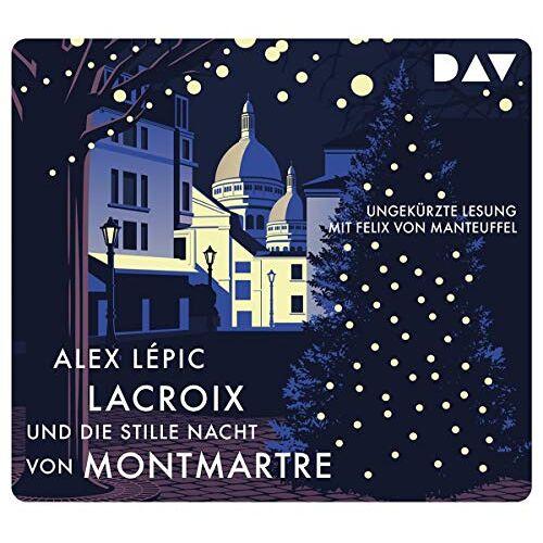 Alex Lépic - Lacroix und die stille Nacht von Montmartre. Sein dritter Fall: Ungekürzte Lesung mit Felix von Manteuffel (4 CDs): Ungekürzte Lesung mit Felix von Manteuffel (5 CDs) - Preis vom 24.02.2021 06:00:20 h