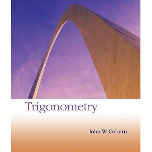 Coburn, John W. - Trigonometry - Preis vom 12.05.2021 04:50:50 h