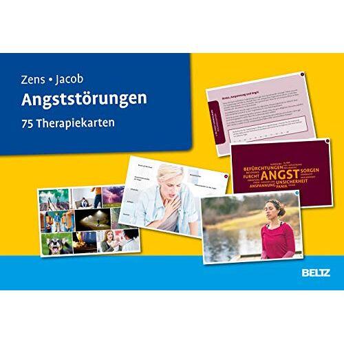 Christine Zens - Angststörungen: 75 Therapiekarten. Kartenset mit 75 Karten für die Psychotherapie. Mit 24-seitigem Booklet (Beltz Therapiekarten) - Preis vom 24.02.2021 06:00:20 h