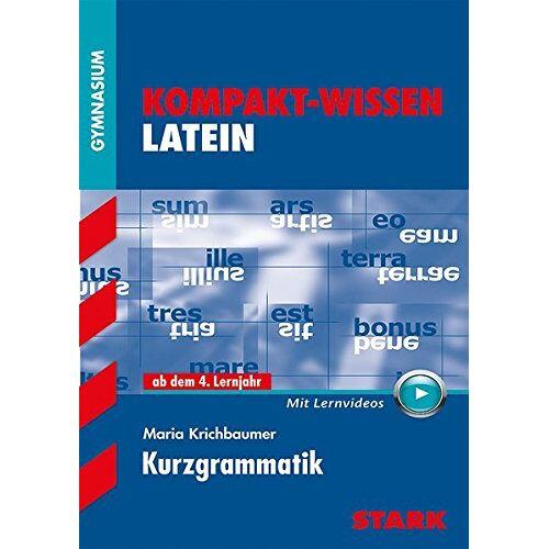 Maria Krichbaumer - Kompakt-Wissen Latein - Kurzgrammatik mit Videoanreicherung - Preis vom 08.05.2021 04:52:27 h