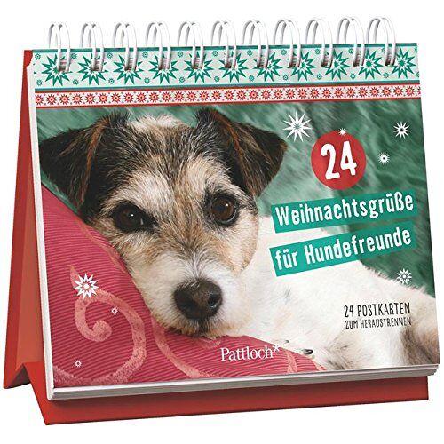 - 24 Weihnachtsgrüße für Hundefreunde: 24 Postkarten zum Heraustrennen - Preis vom 05.09.2020 04:49:05 h