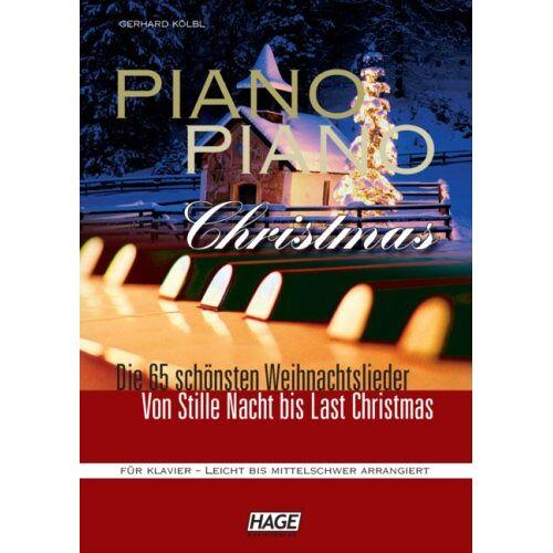 Gerhard Kölbl - Piano Piano Christmas - Weihnachtslieder für Klavier - Preis vom 26.02.2021 06:01:53 h