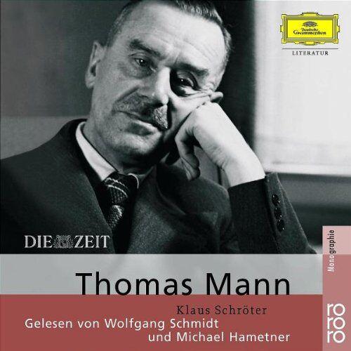 Klaus Schröter - Thomas Mann. 2 CDs - Preis vom 20.10.2020 04:55:35 h