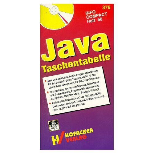 - Java Taschentabelle. Java , JavaScript Referenz. Mit Beispielen - Preis vom 16.04.2021 04:54:32 h