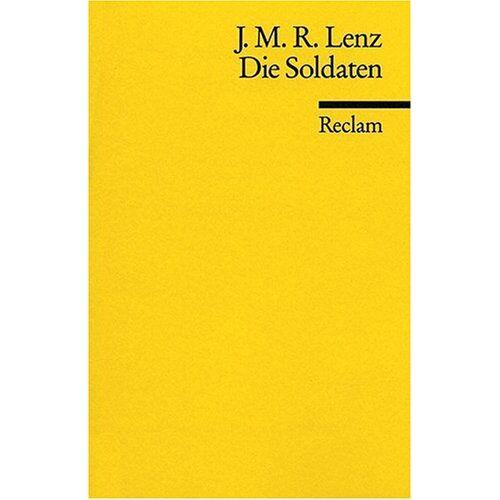Lenz, Jakob M - Die Soldaten - Preis vom 24.01.2020 06:02:04 h