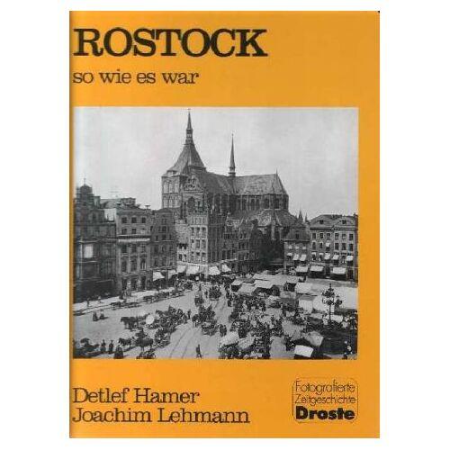 Detlef Hamer - Rostock, so wie es war, Bd.1 - Preis vom 08.05.2021 04:52:27 h