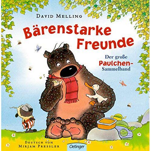 David Melling - Bärenstarke Freunde: Der große Paulchen-Sammelband - Preis vom 28.02.2021 06:03:40 h