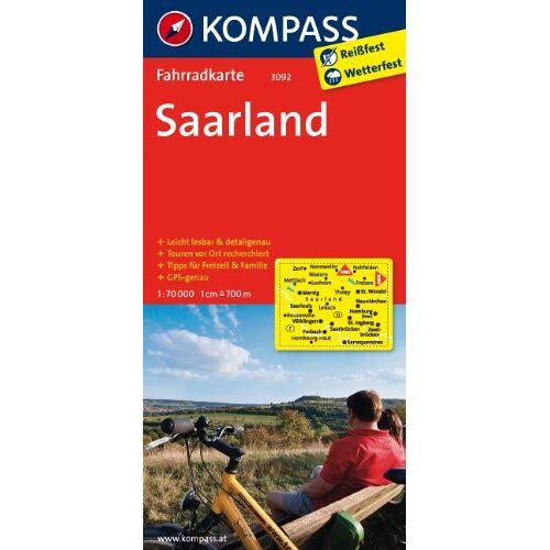- Saarland: Fahrradkarte. GPS-genau. 1:70000 - Preis vom 21.10.2020 04:49:09 h