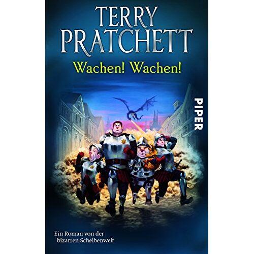 Terry Pratchett - Wachen! Wachen!: Ein Roman von der bizarren Scheibenwelt (Terry Pratchetts Scheibenwelt) - Preis vom 21.10.2020 04:49:09 h