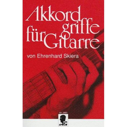 Ehrenhard Skiera - Akkordgriffe für Gitarre: 1536 Akkordgriffe mit theoretischen spieltechnischen Erläuterungen im Anhang. Gitarre. Lehrbuch. - Preis vom 15.01.2021 06:07:28 h