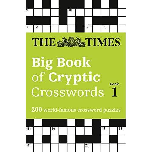 The Times Mind Games - The Times Big Book of Cryptic Crosswords Book 1: 200 World-Famous Crossword Puzzles (Times Mind Games) - Preis vom 03.05.2021 04:57:00 h