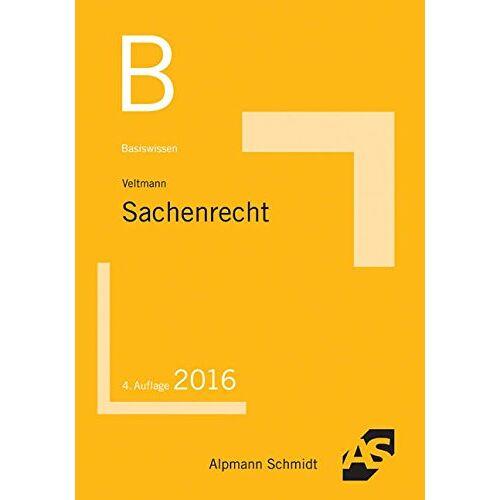 Till Veltmann - Basiswissen Sachenrecht - Preis vom 21.10.2020 04:49:09 h