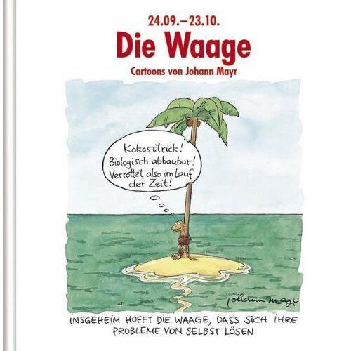 - Die Waage: Cartoon-Geschenkbuch - Preis vom 20.10.2020 04:55:35 h