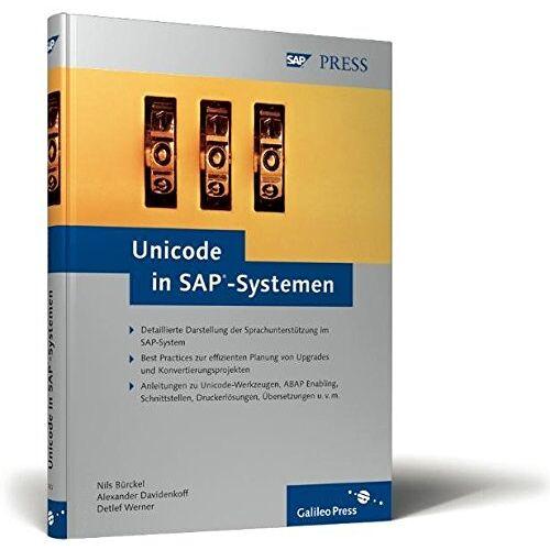 Nils Bürckel - Unicode in SAP-Systemen (SAP PRESS) - Preis vom 15.04.2021 04:51:42 h