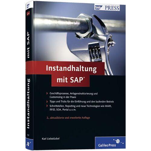 Karl Liebstückel - Instandhaltung mit SAP (SAP PRESS) - Preis vom 12.05.2021 04:50:50 h