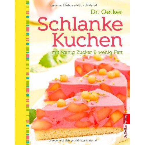 Oetker - Schlanke Kuchen - mit wenig Zucker und Fett - Preis vom 13.05.2021 04:51:36 h