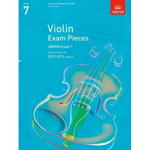 ABRSM - Violin Exam Pieces 2012-2015, ABRSM Grade 7, Score & Part: Selected from the 2012-2015 Syllabus (ABRSM Exam Pieces) - Preis vom 19.10.2020 04:51:53 h