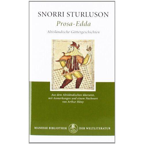 Snorri Sturluson - Prosa-Edda: Altisländische Göttergeschichten - Preis vom 14.04.2021 04:53:30 h