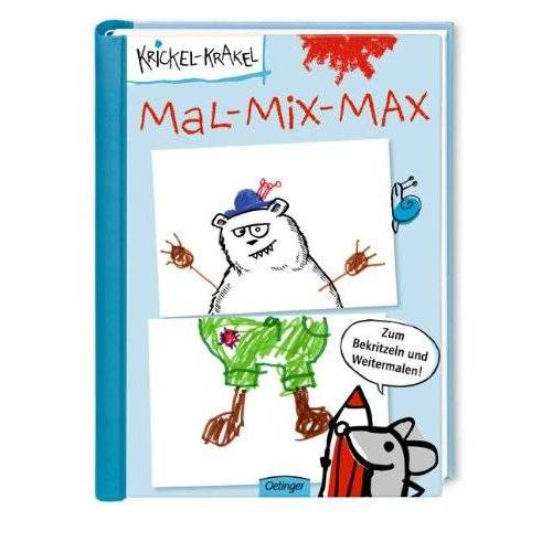 Die Krickelkrakels - Krickel-Krakel Mal-Mix-Max - Preis vom 20.10.2020 04:55:35 h
