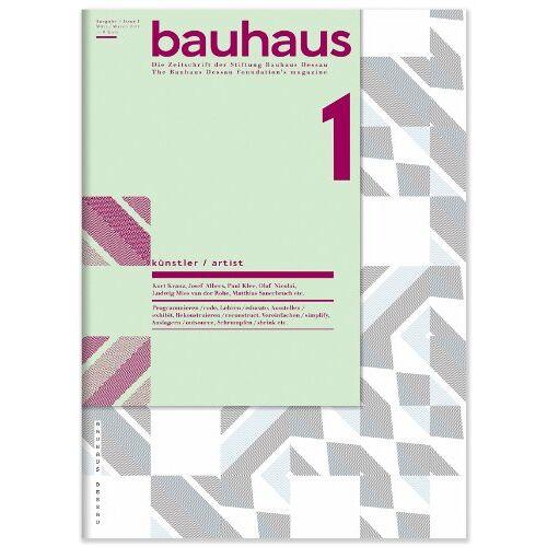 Philipp Oswalt - Bauhaus. Die Zeitschrift der Stiftung Bauhaus Dessau. Nr. 1 (Bauhaus Magazine) - Preis vom 15.05.2021 04:43:31 h