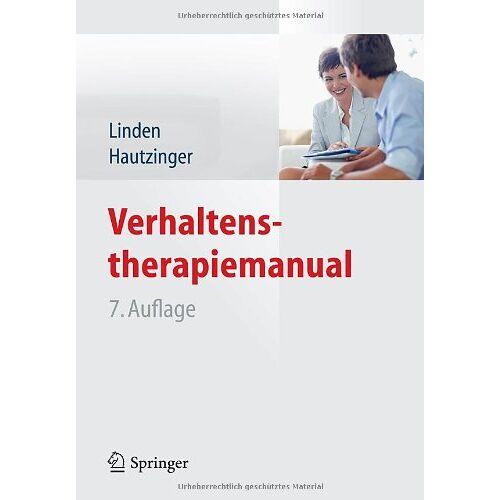 Michael Linden - Verhaltenstherapiemanual - Preis vom 27.10.2020 05:58:10 h