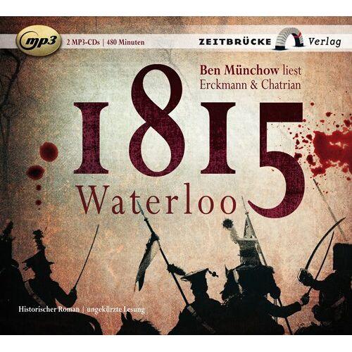 Emile Erckmann - 1815 Waterloo, 2 MP3-CDs - Preis vom 09.04.2021 04:50:04 h