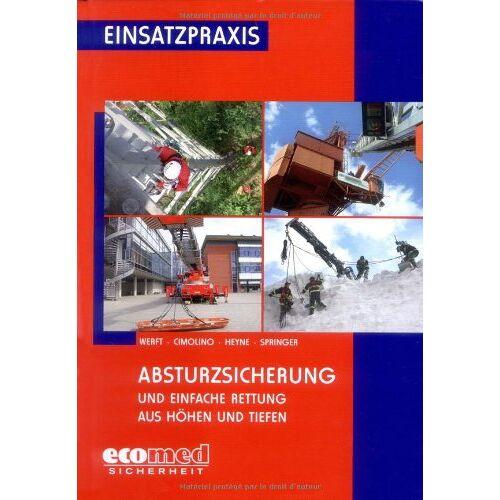 Wolfgang Werft - Absturzsicherung / Höhenrettung: Absturzsicherung und Einfache Rettung aus Höhen und Tiefen - Preis vom 23.09.2020 04:48:30 h