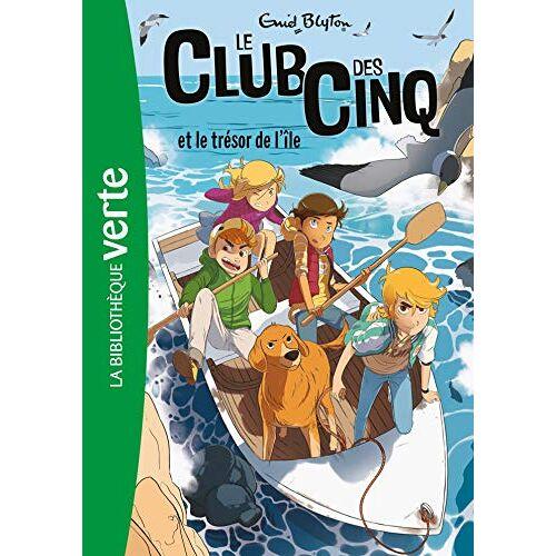 Enid Blyton - Le Club des Cinq 1/Le Club des Cinq et le tresor de l'ile - Preis vom 20.10.2020 04:55:35 h