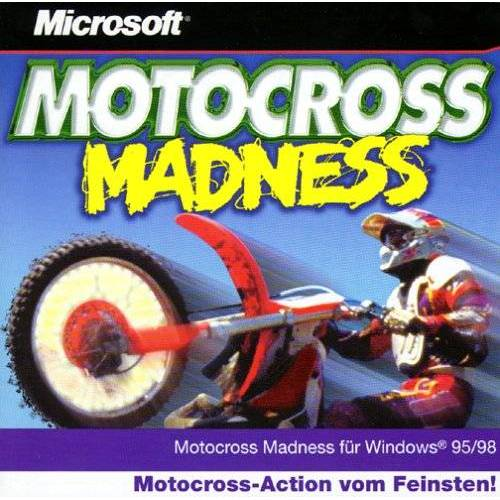 - Motocross Madness. CD- ROM für Windows 95/98. Motocross Action vom Feinsten - Preis vom 25.02.2021 06:08:03 h