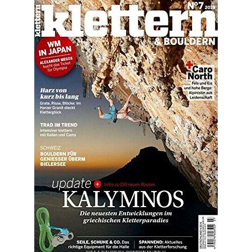 Klettern - Klettern 7/2019 Kalymnos - Preis vom 18.04.2021 04:52:10 h