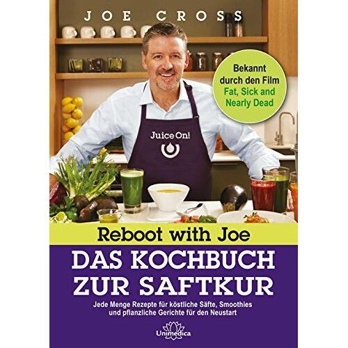 Joe Cross - Reboot with Joe - Das Kochbuch zur Saftkur: Jede Menge Rezepte für köstliche Säfte, Smoothies und pflanzliche Gerichte für den Neustart - Preis vom 04.10.2020 04:46:22 h