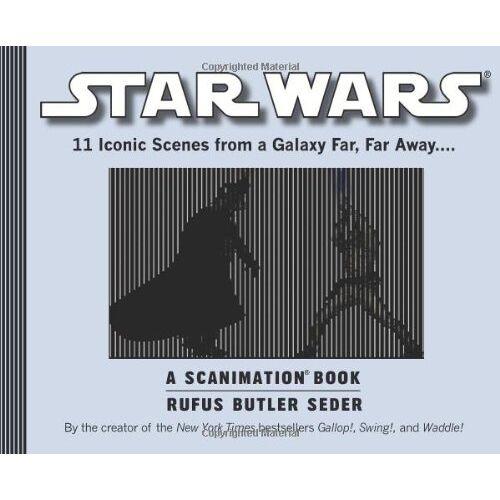 Seder, Rufus Butler - Star Wars Scanimation: A Scanimation Book - Preis vom 17.01.2020 05:59:15 h