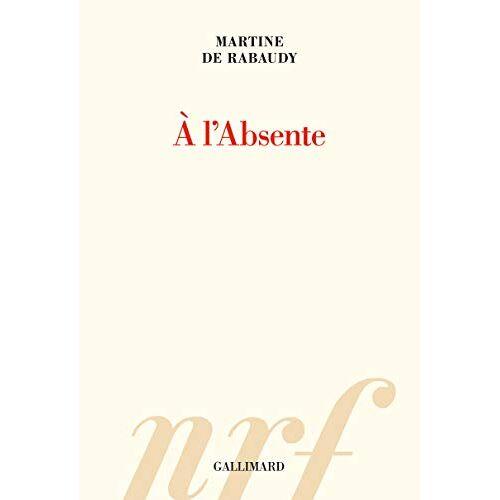 - A l'Absente - Preis vom 20.10.2020 04:55:35 h