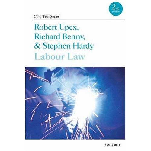Robert Upex - Labour Law (Core Texts Series) - Preis vom 10.09.2020 04:46:56 h