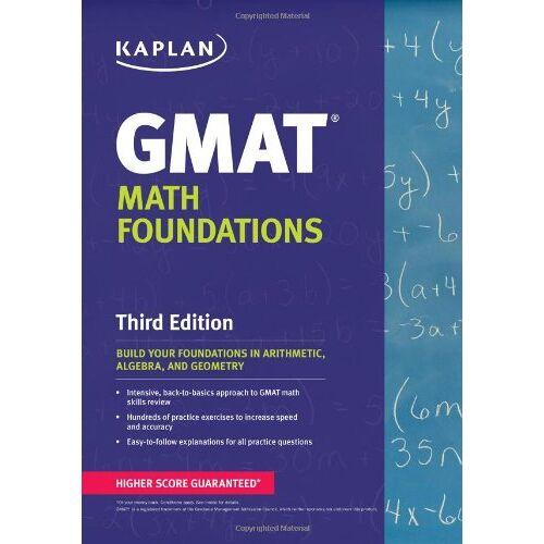Kaplan - Kaplan GMAT Math Foundations (Kaplan Test Prep) - Preis vom 19.10.2020 04:51:53 h