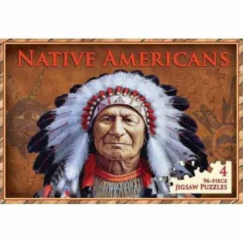 - Native Americans: 4 96-piece Jigsaw Puzzles (Deluxe Jigsaw Books) - Preis vom 05.05.2021 04:54:13 h