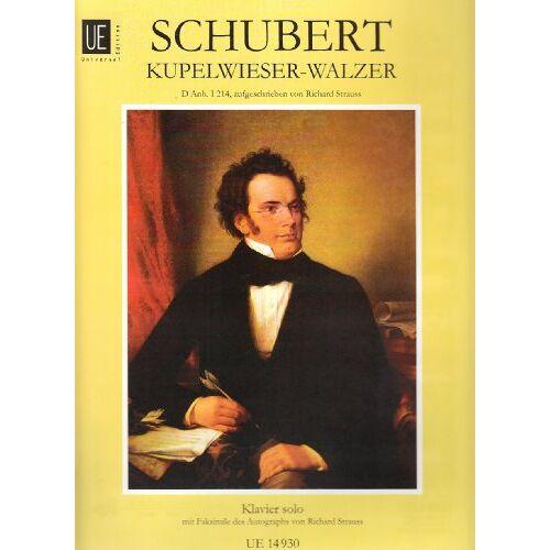 - Walzer - Kupelwieser: für Klavier - Preis vom 20.10.2020 04:55:35 h