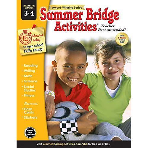 Summer Bridge Activities - Summer Bridge Activities(r), Grades 3 - 4 - Preis vom 05.05.2021 04:54:13 h