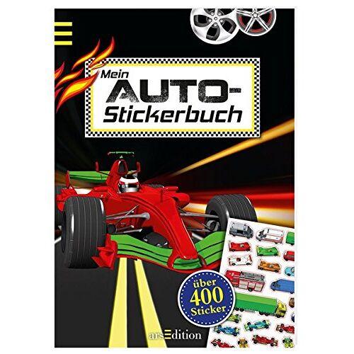 - Mein Auto-Stickerbuch (Mein Stickerbuch) - Preis vom 05.03.2021 05:56:49 h