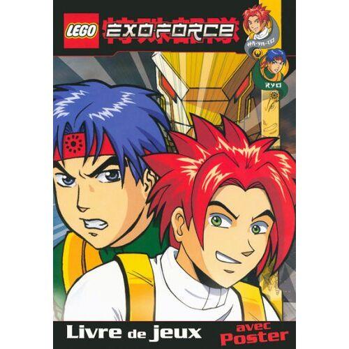 - Lego Exoforce Livre Jeux avec Poster Ha Ya to Ryo - Preis vom 15.01.2021 06:07:28 h