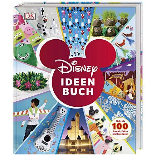 Elizabeth Dowsett - Disney Ideen Buch: Mehr als 100 Bastel-, Deko- und Spielideen - Preis vom 27.02.2021 06:04:24 h