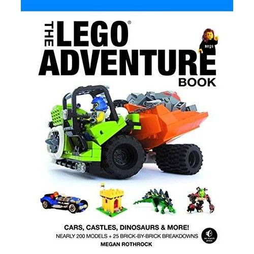 Rothrock, Megan H. - The LEGO® Adventure Book: Cars, Castles, Dinosaurs and More! - Preis vom 30.03.2020 04:52:37 h