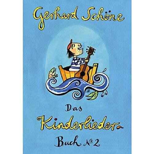 Gerhard Schöne - Kinderliederbuch 2: 42 Kinderlieder von Gerhard Schöne mit Noten, Texten und Gitarrengriffen - Preis vom 11.05.2021 04:49:30 h