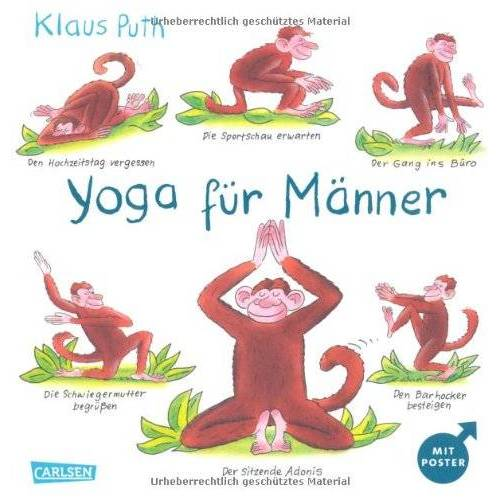 Klaus Puth - Yoga für Männer - Preis vom 06.12.2019 06:03:57 h