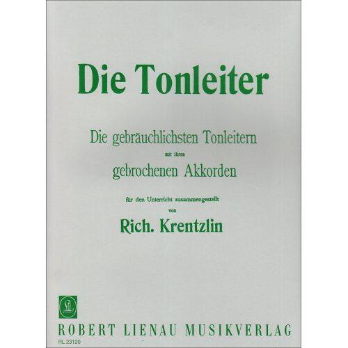 - Die Tonleiter für Klavier (Krentzlin): Die gebräuchlichsten Tonleitern mit ihren gebrochenen Akkorden - Preis vom 24.02.2021 06:00:20 h